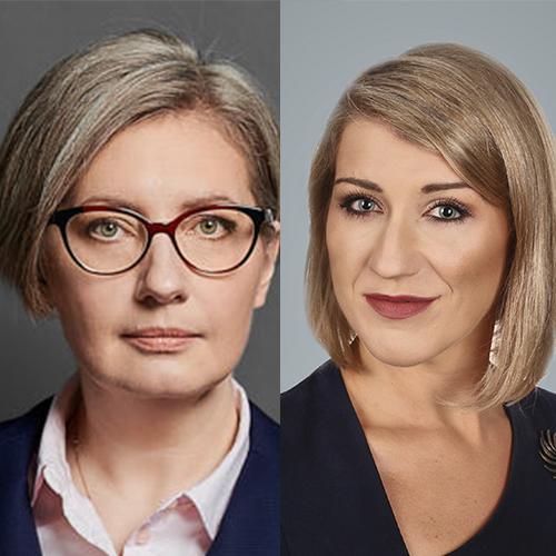 mec. Karolina Stawicka, mec. Paula Koczara